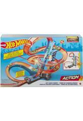 Hot Wheels Tour de Chocs Dans Les Aires Mattel GJM76