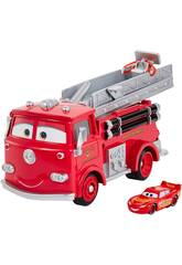 Cars Súper Camión Bomberos Mattel GPH80
