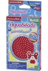 Aquabeads Pack Abalorios Sólidos Rojo Epoch Para Imaginar 32508