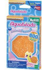 Aquabeads Pack Abalorios Joya Naranja Epoch Para Imaginar 32678