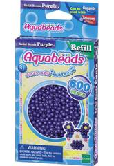 Aquabeads Pack Perline Solide Viola Epoch Para Imaginar 32578