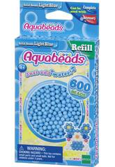 Aquabeads Pack Perline Solide Blu Chiaro Epoch Para Imaginar 32558