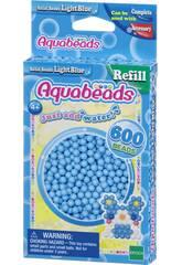 Aquabeads Pack Contas Sólidos Azul Claro Epoch Para Imaginar 32558