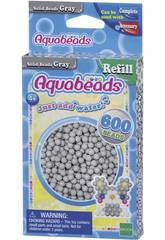 Aquabeads Pack Perles Solides Gris Epoch Para Imaginar 32648