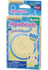 Aquabeads Pack Perles Solides Blanc Ivoire Epoch Para Imaginar 32628