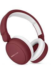 Auscultadores Headphones 2 Bluetooth Ruby Red Energy Sistem 44579