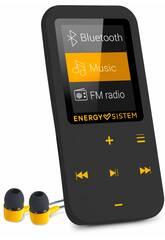 Portable Audio MP4 Touch Bluetooth Amber Energy Sistem 44722Il est temps de chanter et danser avec les artistes que vous aimez le plus tranquilement grâce au nouveau <b> MP4 Touch Bluetooth Amber d'Energy Sistem </b>! Procurez-vous ce puissant et résistant MP4 compact et très pratique, c'est un dispositif pour jouer la musique que vous aimez le plus et beaucoup plus. Le produit inclut sept modes d'equalisation, une navigation des fichiers, un enregistreur vocal et un micrologiciel évolutif. Profitez au rythme de vos artistes préférés partout! Informations pertinentes: - Dimensions approximatives: 8,9x4,4x9 cm. - Poids approximatif: 30 grammes. - Le kit est composé de: 1 MP4 Touch Bluetooth Amber, des écouteurs intra-auriculaires, un chargeur USB et une connexion PC et un guide rapide. Données techniques: - Écran LCD de 1,8 pouces et résolution 160x128 pixels. - 16 Go de mémoire extensible avec une carte Micro SD de 128 Go. - Connectivité Bluetooth v2 de protocole A2DP, classe II et portée de 10 mètres (varie en fonction des conditions). Avec slot pour carte Micro SD et micro USB pour charger la batterie. - Compatibilité audio: MP3 / FLAC / WMA / WAV / APE. Compatibilité vidéo: AMV. L'article inclut un logiciel de conversion vidéo. Compatibilité d'image: BMP / JPG / GIF. - Batterie au lithium rechargeable avec une capacité de 300 mAh, tension nominale de 3,7 V CC et durée de 4 à 8 heures en fonction de l'utilisation. - Radio FM dans une bande de fréquence 87 MHz 108 MHz.