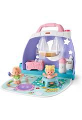 Little People Conjunto Bebés Nursery Mattel GKP70