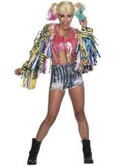 Disfrace Mulher Harley Quinn Birds Of Pray Tamanho XS Rubies 701811-XS