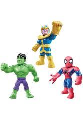 Avengers Mega Mighties Multipack 3 figure Hasbro E7772