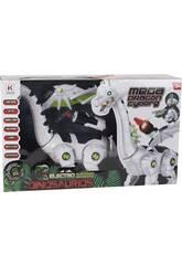 Mega Dragão Cyborg Caminhante com Luz e Sons
