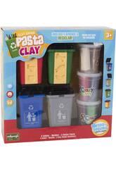 Moldea y Aprende a Reciclar con Pasta Clay