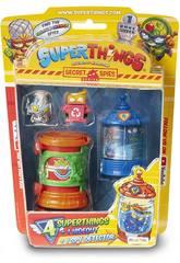 Superthings Secret Spies Figure con Hideout e Spy Detector Magic Box PST6B416IN00