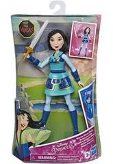 Princeses Disney Poupée Mulan Guerrière de Hasbro 86285