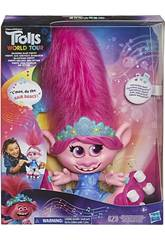 Trolls Bambola Poppy Capelli con Ritmo Hasbro E9459