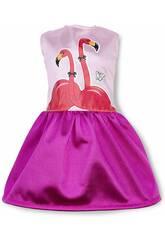 Nancy Um Dia com Roupinha De Verão Modelo Flamingo Famosa 700014111