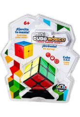 Cubo Mágico Mini 2x2x2 con Peana