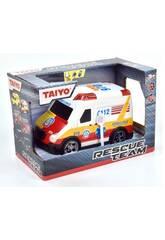 Ambulancia con Luz y Sonido Taiyo 660700B