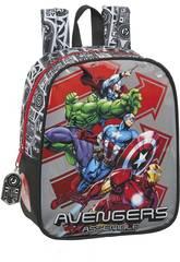 Mochila Guardería Avengers Héroes Adaptable a Carro Safta 612079232