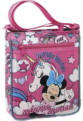 Bolso de Ombro Minnie Mouse Unicorns Safta 612012431