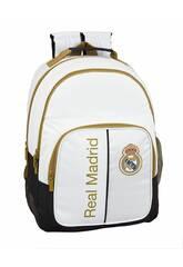 Sac à Dos Double Real Madrid 1er Équipement 19/20 Adaptable à un Chariot Safta 611954773