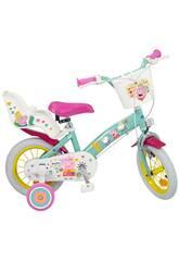 Vélo 12 Pouces Peppa Pig 2 Freins Toimsa 1298