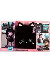Na! Na! Na! Surprise Rucksack mit Puppe Exclusive Farbe Schwarz Giochi Preziosi NAA04210