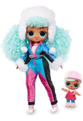 LOL Surprise OMG Serie Winter Chill Boneca Icy Gurl Giochi Preziosi LLUE3100