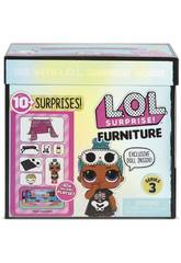 LOL Surprise Furniture Pack Avec Poupée Série 3 Giochi Preziosi LLUC8000