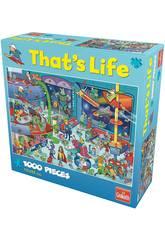 Puzzle 1000 Piezas That's Life Espacio Goliath 371426