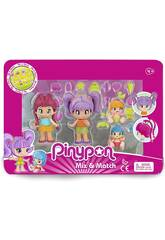 Pin y Pon New Look Pack 4 Figuras Famosa 700015571