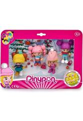 PinyPon Pack 4 Figurines Neige Famosa 700015771