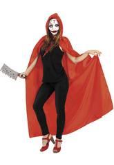 Costume Donna Sanguinante con Cappuccio Rubies S8306