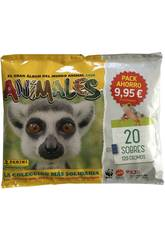 Animales 2020 Pack Económico 20 Envelopes Panini