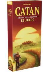Catan Espansione 5-6 giocatori Il gioco Devir BGCATAN56