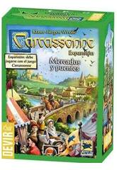 Carcassonne Expansión Mercados y Puentes Devir BGCARME
