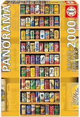Puzzle 2.000 Lattina Sulla Lattina Panorama Educa 11053