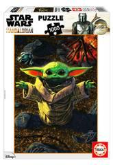 Puzzle 1000 Baby Yoda The Mandalorian Educa 18892