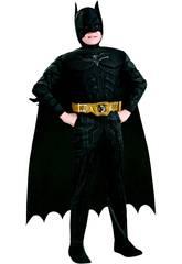 Kinderkostüm Muskulöse Batman mit T-M Zubehör Rubies 881290-M