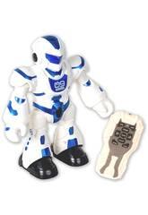 Megabot Dançarino Vermelho Comando com Luzes e Sons