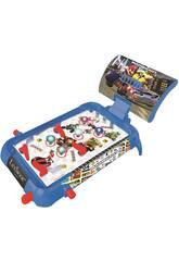 Mario Kart Flipper Électronique de Table avec des Lumières et des Sons Lexibook JG610NI