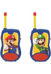 Super Mario Talkie-Walkie 120 M. Lexibook TW12NI
