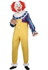 Disfraz Creepy Clown Hombre Talla XL