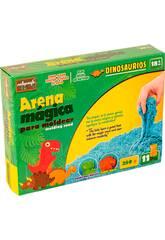 Arena Mágica 250 gr. Dinosaurios 11 Piezas