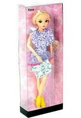 Muñeca Maniquí a la Moda 30 cm. Modelo A