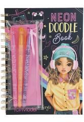 TopModel Doodle Book con 3 Bolígrafos 10273