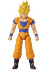 Dragon Ball Super Figura Deluxe Goku Super Saiyan Nueva Versión Bandai 36192