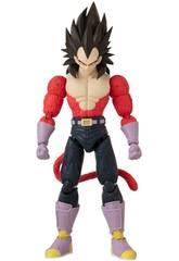 Dragon Ball Super Figurine Deluxe Vegeta Super Saiyan 4 Bandai 36193