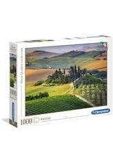 Puzzle 1000 Toscana Clementoni 39456