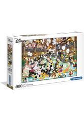 Puzzle 6000 Gala de Disney Clementoni 36525